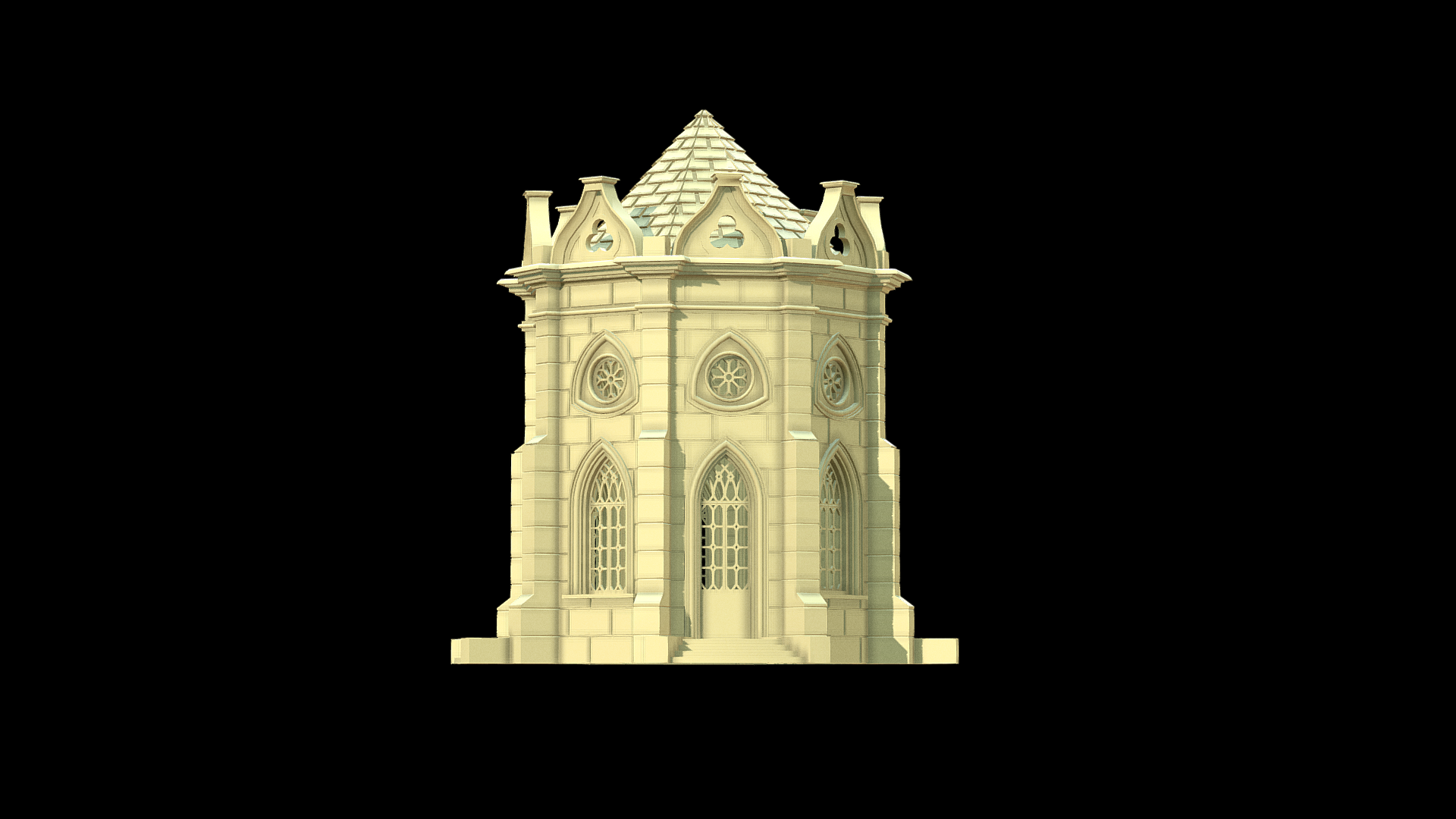 Gothic building 28mm scale